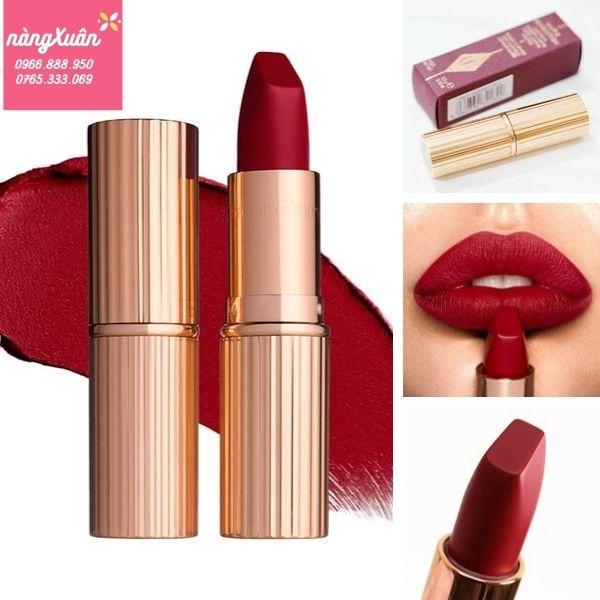 Charlotte Tilbury Lipstick màu đỏ Ruby