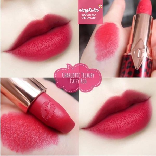 Swatch Son CT Hot Lips 2 Pasty Red