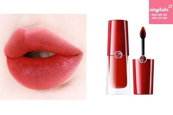 Giorgio Armani 400 Lipstick lên môi cực chuẩn nét, tôn da, lâu trôi