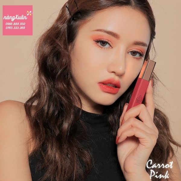 Son 3CE Carrot Pink