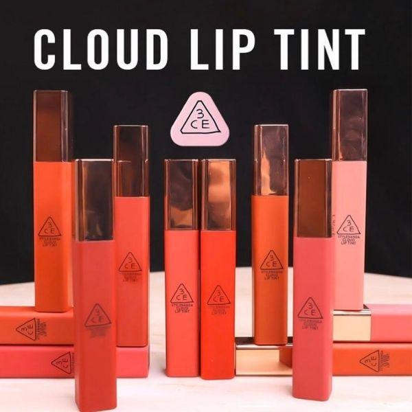 Review Son Kem 3CE Cloud Lip Tint Live A Little