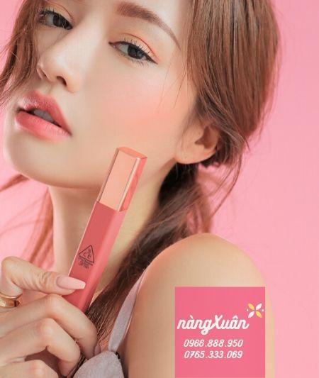 Son kem 3CE Cloud Cutesicle màu hồng nude