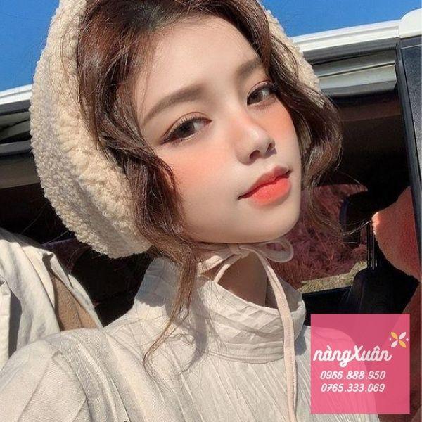 Review son 3CE Peach Tease - Màu Cam San Hô