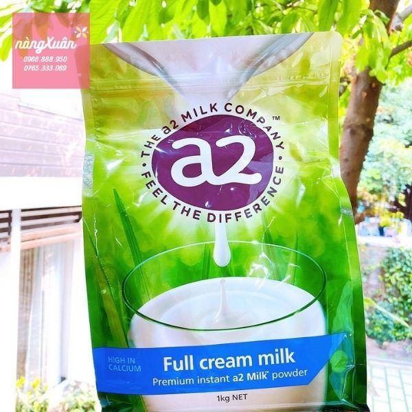 A2 Premium Instant Milk Powder Full Cream chính hãng Úc