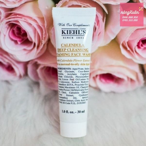 Kiehl's Calendula Cleansing Face Wash