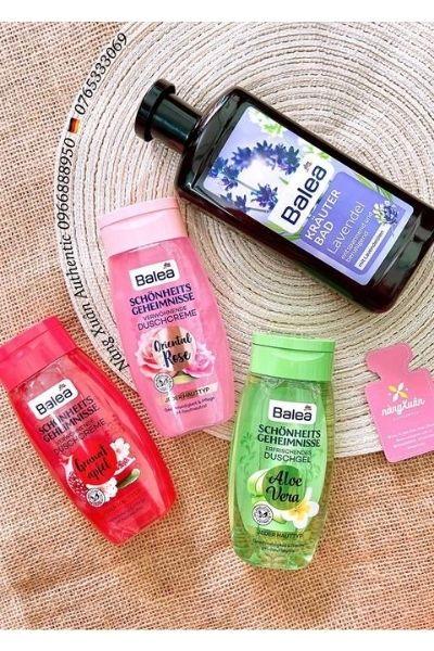 Tại Nàng Xuân Authentic có rất nhiều loại sữa tắm chăm sóc da