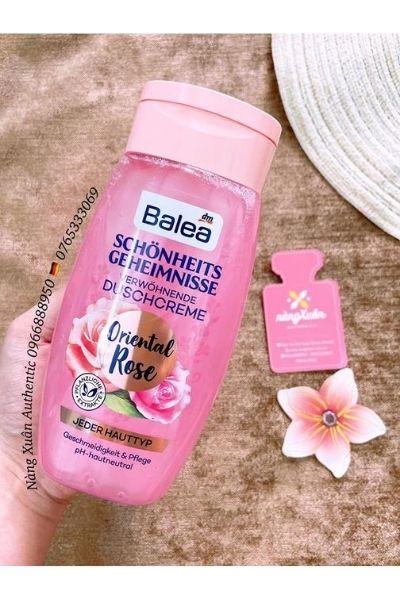 Sữa tắm Balea xách tay Đức