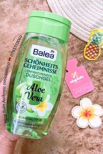 Sữa tắm Balea chính hãng nội địa Đức chiết xuất nha đam