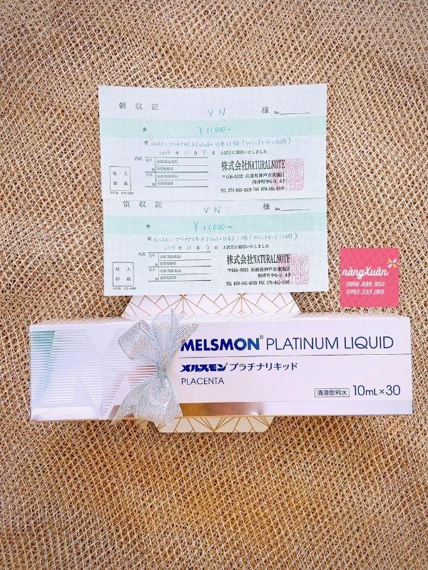 Nước uống Nhau Thai Ngựa Melsmon