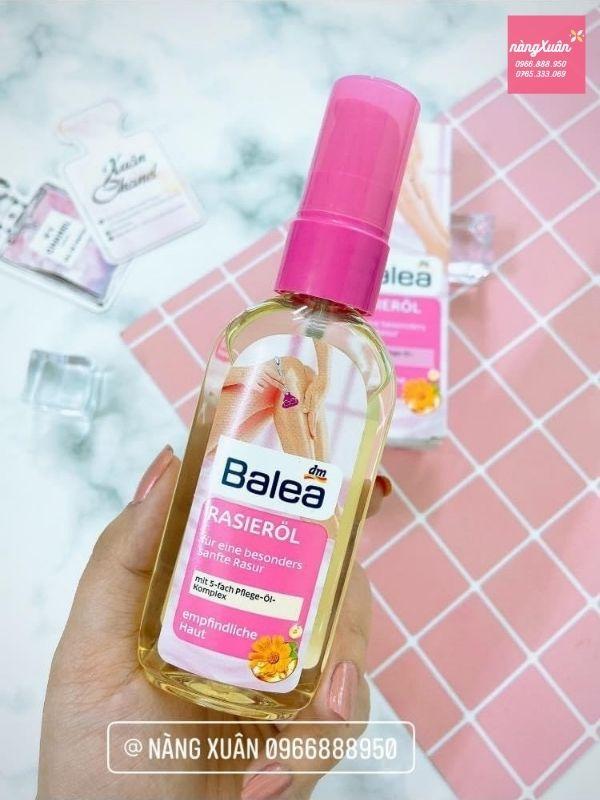 Tinh dầu cạo lông Balea Rasieröl chính hãng