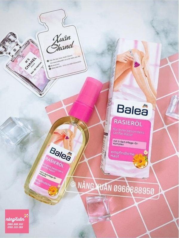 Tinh dầu hoa cúc Balea Rasierol chính hãng