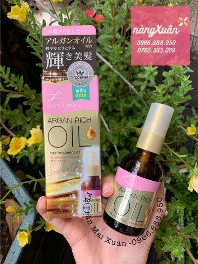 Tinh dầu dưỡng tóc Lucido L