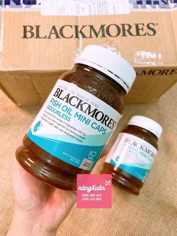 Viên uống dầu cá Blackmores Fish Oil