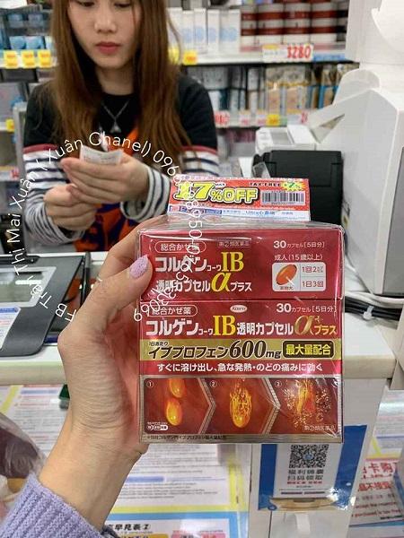 Sản phẩm được NÀNG XUÂN AUTHENTIC mua tại siêu thị Nhật Bản