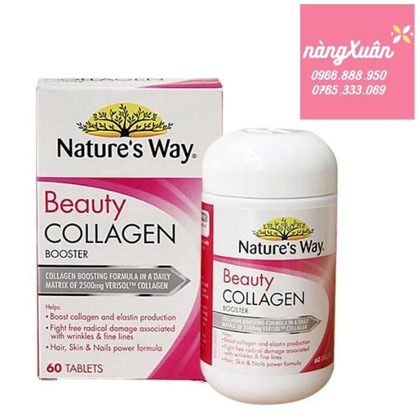 Viên uống collagen Nature's Way Beauty chính hãng của Úc.