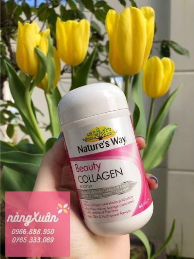 Thực phẩm bổ sung collagen dành cho phái đẹp, Viên uống collagen Nature's Way