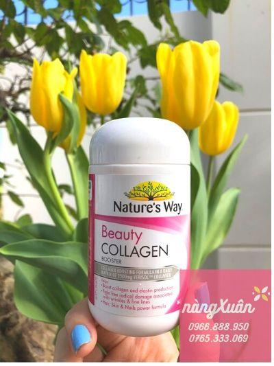Viên uống Collagen Nature's Way chính hãng Úc, Viên uống collagen Nature's Way