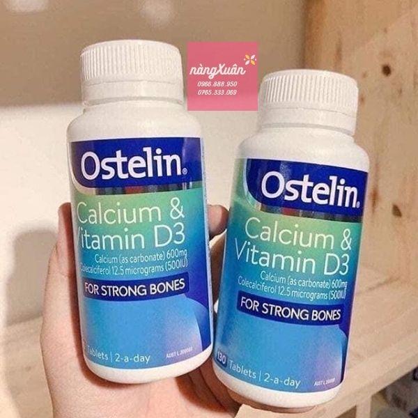 Ostelin Vitamin D và Calcium 130 viên