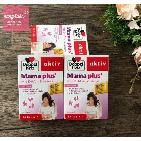 Review Viên uống Doppelherz Aktiv Mama Plus chính hãng
