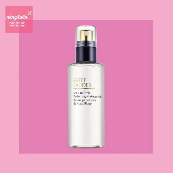 Review Xịt khoáng Estee Lauder Set Refresh Perfecting Makeup Mist 116ml