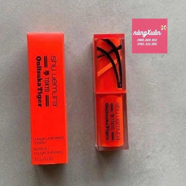 Review son Shu Uemura Tokyo Tangy Orange là màu gì