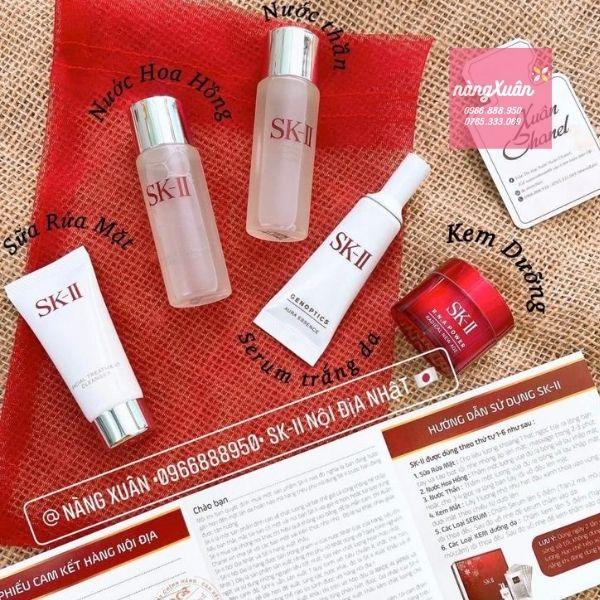 Set SK-II mini 5 món đủ 5 bước cơ bản