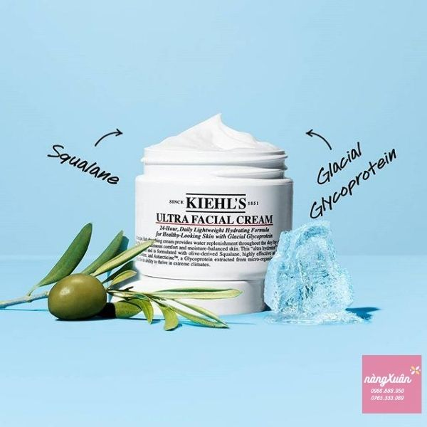 Review kem dưỡng ẩm Kiehls ULtra Facial Cream 50ml