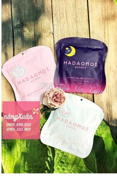 Review mặt nạ tế bào gốc Hadaomoi Suhada màu tím chính hãng