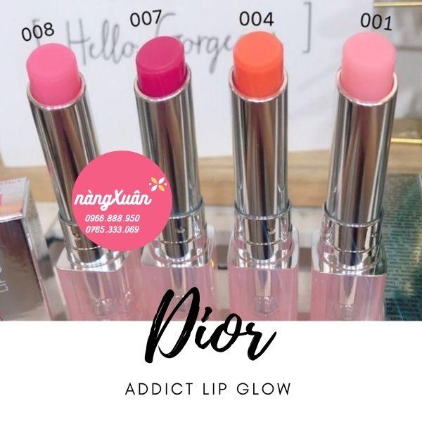 Review bảng màu DIOR Addict Lip Glow