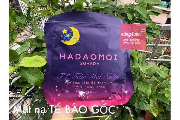 Mặt nạ tế bào gốc Hadaomoi Suhada màu tím chính hãng