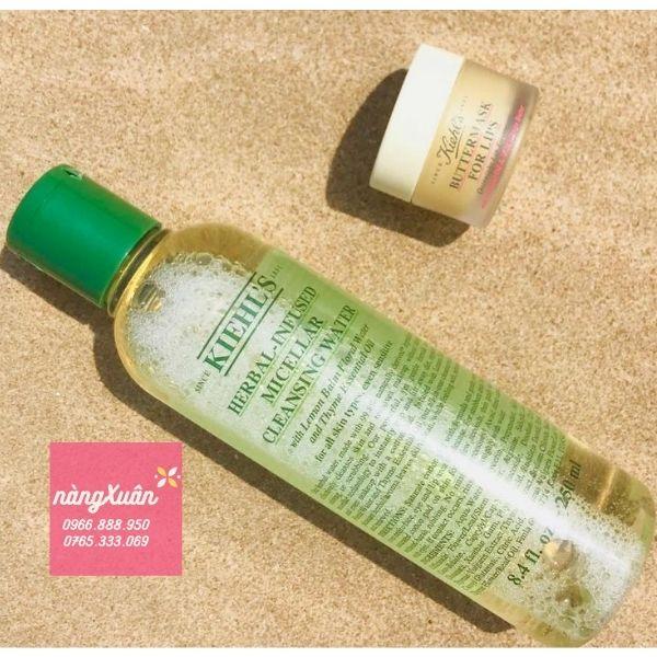 Giá nước tẩy trang Kiehl's Herbal-Infused Micellar 250ml chính hãng
