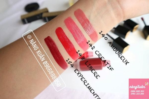 Swatch son Chanel Rouge Allure Ink 148