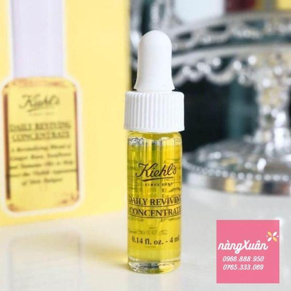Serum chống lão hóa Kiehls Daily Reviving Concentrate mini 4ml