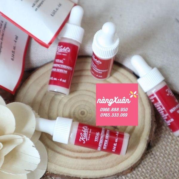 Giá serum Kiehls Skin-Strengthening Super 4ml chống lão hóa