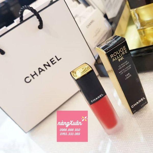 Chanel 148 Libere màu đỏ ánh cam chính hãng