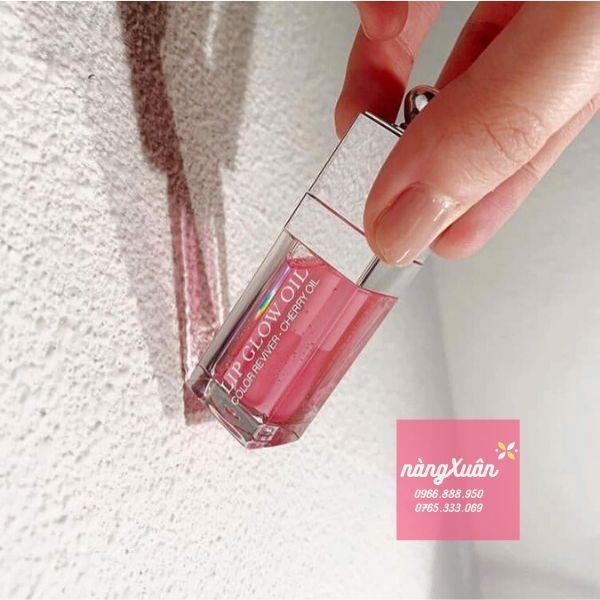 Son dưỡng dạng dầu DIOR OIl 001 Pink chính hãng