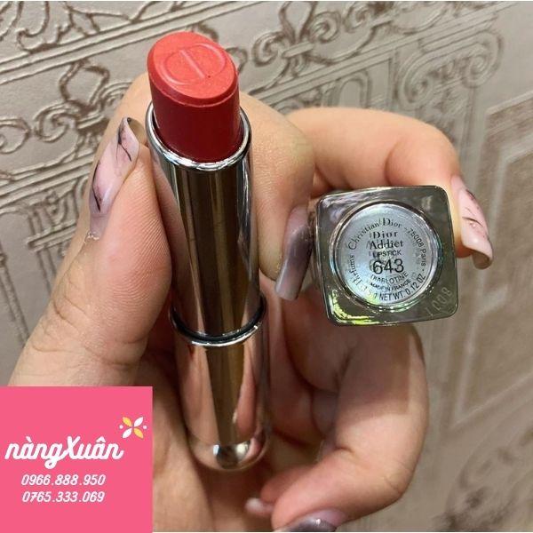 Review son Dior Addict Lipstick 643