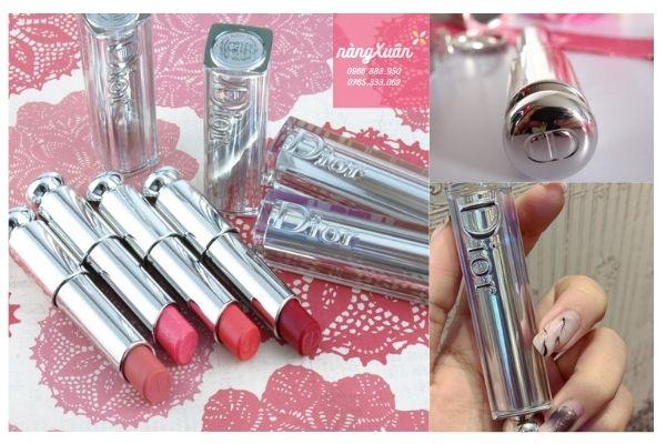 Thiết kế sang trọng của Dior Addict Lipstick