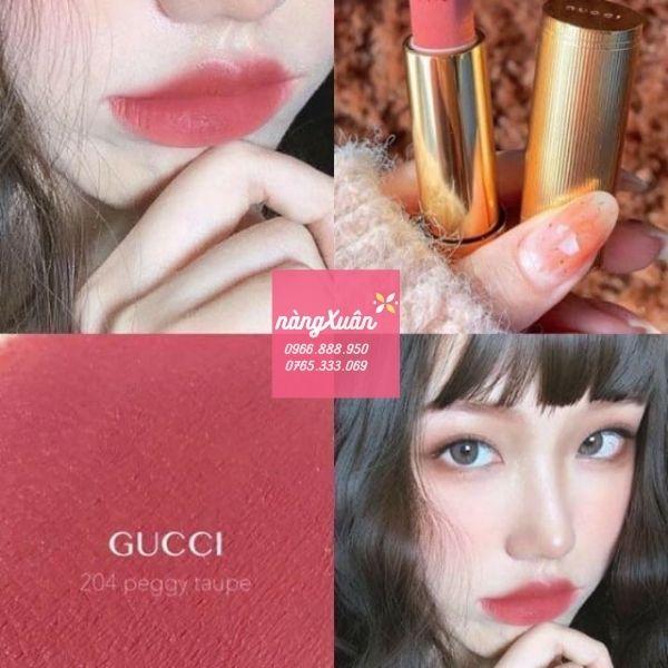 Gucci 204 Matte Lipstick