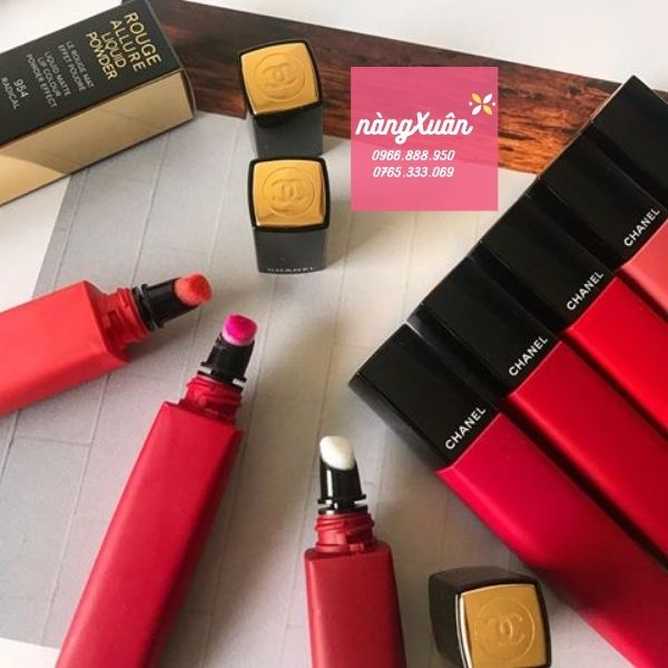 Thiết kế son Chanel Rouge Allure Liquid Powder