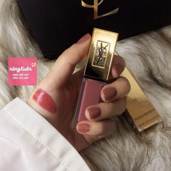 Review son kem YSL Rouge Tatouage Couture chính hãng