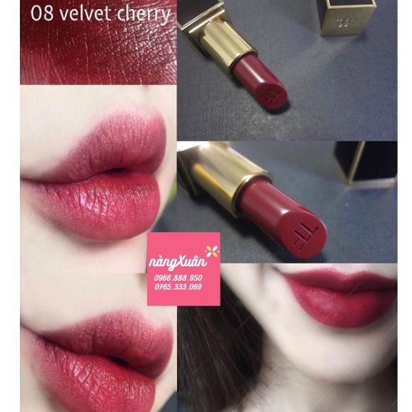 Son TF Velvet Cherry màu đỏ rượu vang giá bao nhiêu.