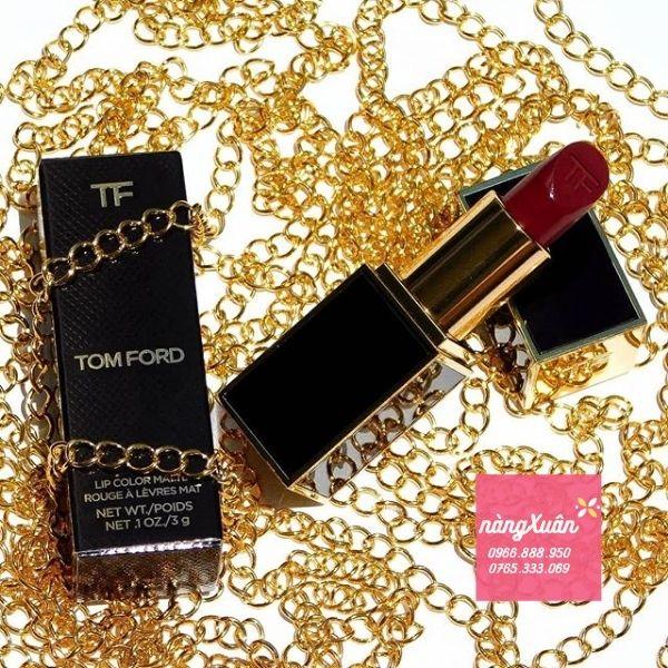 Son TF 08 Velvet Cherry đỏ rượu vang cực đẳng cấp