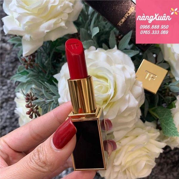 Son Tom Ford 10 Cherry Lush Lip Color Matte màu đỏ hồng hàng xách tay chính hãng có sẵn giá rẻ