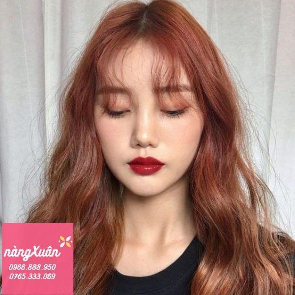 Son môi màu Đỏ Nâu