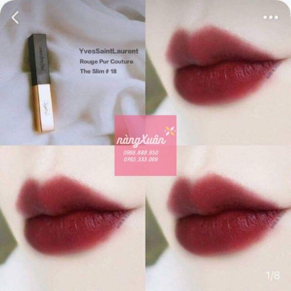 Son môi chính hãng
