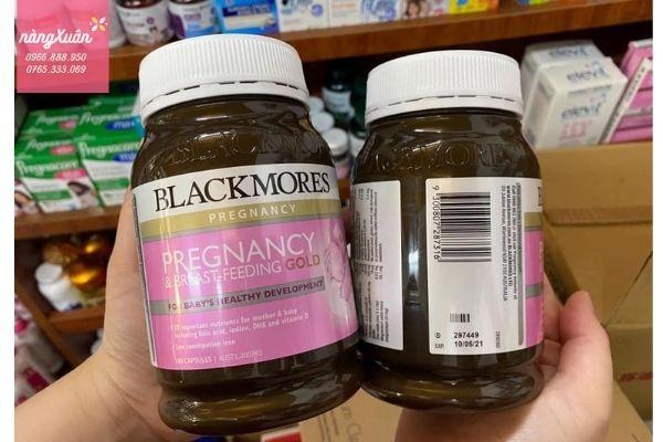 Review Blackmores Pregnancy Gold chính hãng