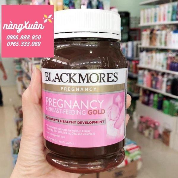 Review Vitamin bầu Blackmores Pregnancy Gold 180 viên