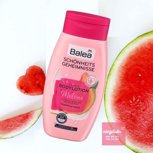 Balea Body Lotion Dưa Hấu - Balea Body Lotion Melone