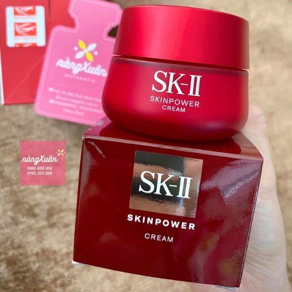 Kem dưỡng chống lão hoá SK-II SKIN POWER CREAM Nội Địa Nhật
